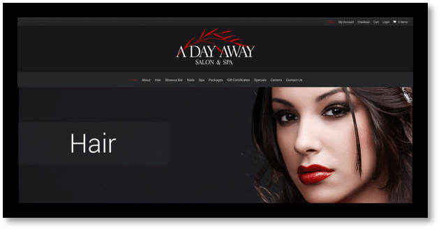 Client Portal – A Day Away Salon And Spa